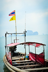 Longtail Boat, Tonsai, Thailand
