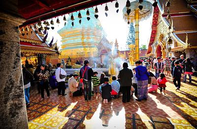 Doi Suthep, Chiang Mai (Thailand)