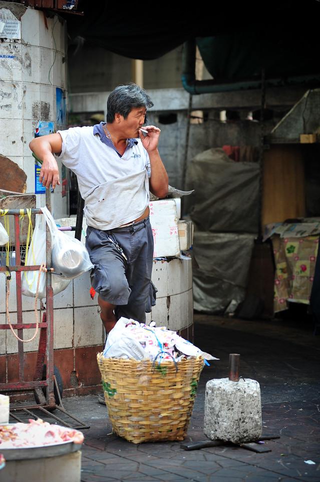 Smoker, Bangkok (Thailand)
