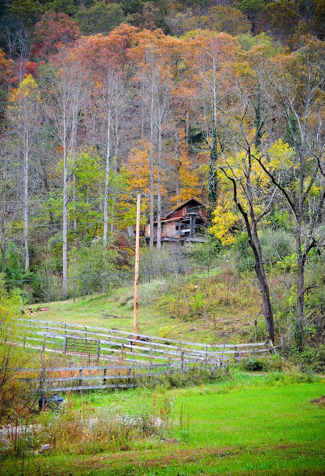 Fall colors, Kentucky (USA)