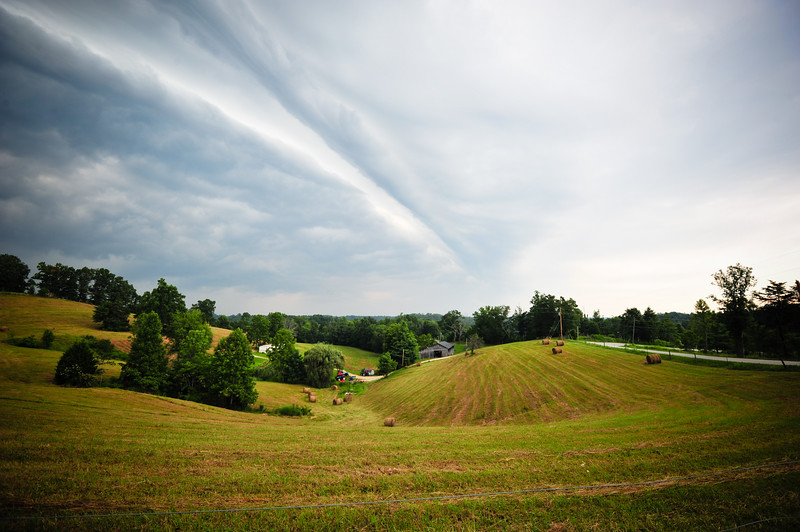 Stormy sky, Kentucky (USA)
