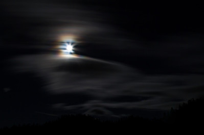 Moonlight Over Tahoe