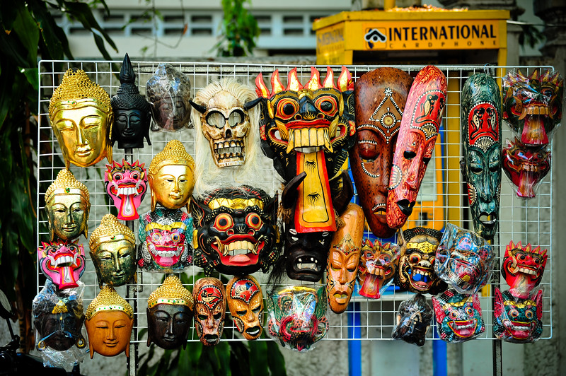 Masks, Bangkok (Thailand)