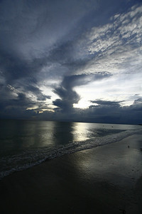 Taken at a Pinellas county beach near sunset.
