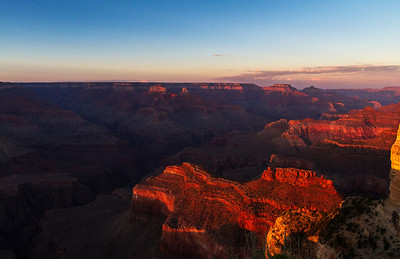 Vantage from Hopi Point before sunset.