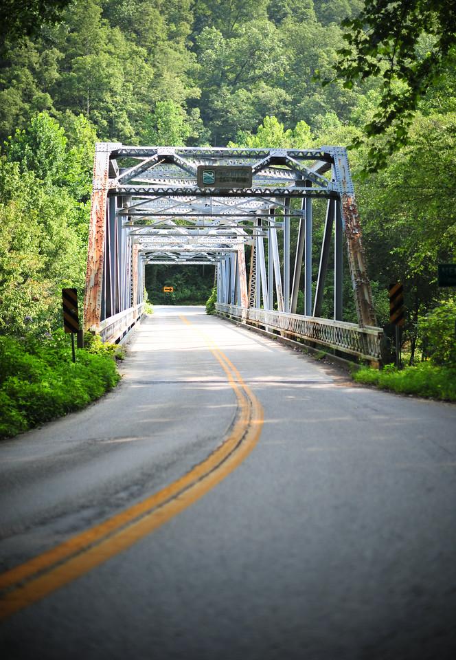 Steel Bridge, Kentucky (USA)