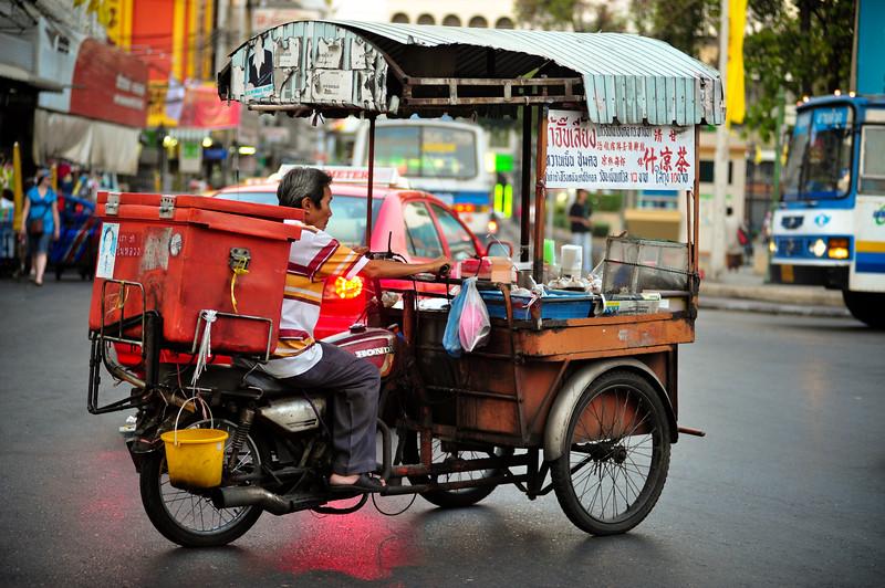 Street vendor, Bangkok (Thailand)