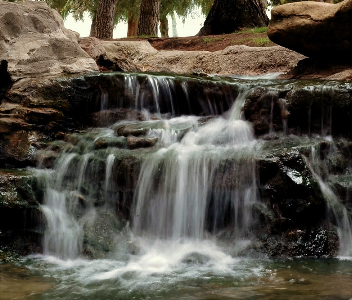 Low Falls<br /> Rancho Community Park, SImi Valley, CA