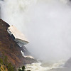 Grand Canyon of the Yellowstone River (Lower Falls) in the spring