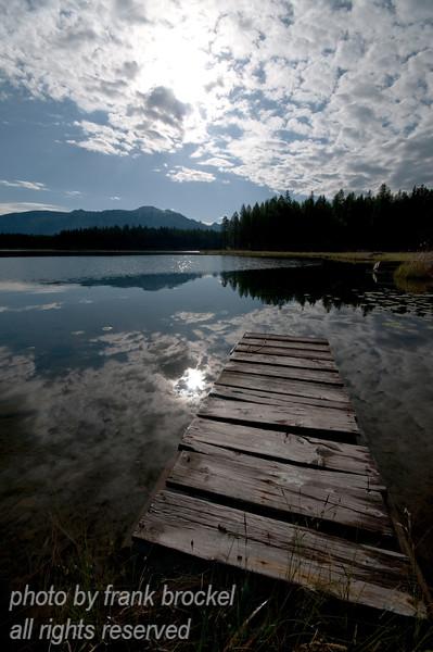 North Star Lake in S.E. British Columbia