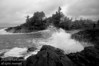 A moody day at Crystal Cove south of Tofino on beautiful and wild Vancouver Island, B.C., Canada