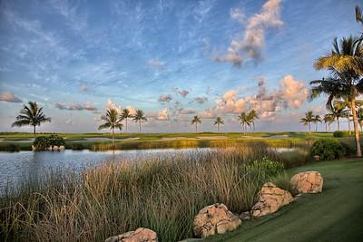 Golf at peace