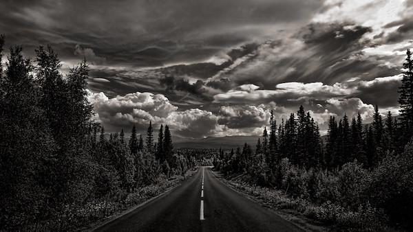 Road somewhere in Sweden