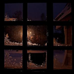 Frozen Window - Arvidsjaur, Norrbottens län, Sweden  - mehr dazu im Blog: Kunstwerke aus Eis