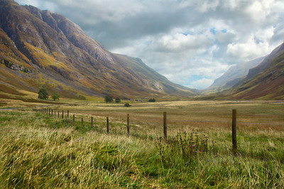 Glen Coe in all its glory.