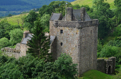 Our old homeplace....  The Castle Campbell