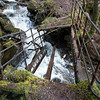 Bridge close to Kinlochleven. Had to cross it twice - when the path was blocked by water farther ahead!