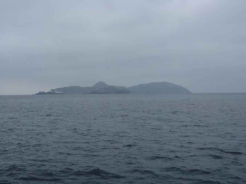 View south to the Middle and Southern Coronados Islands.