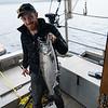 King Salmon caught by Ryan