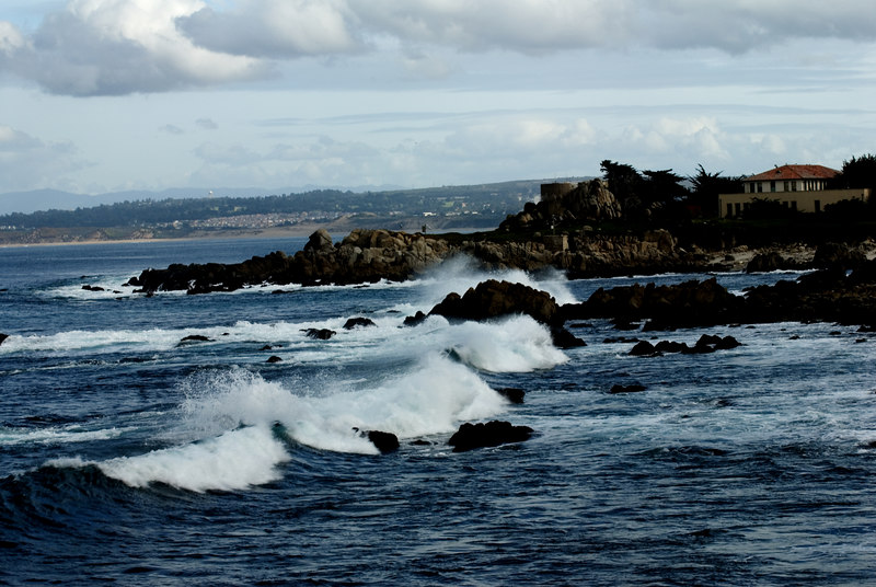 Waves<br /> Lover's Point, Pacific Grove, California