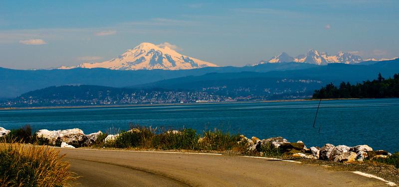 Mount Baker & Three Sisters