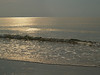 Gold and Silver Sea in Hunting Island Morning