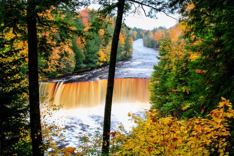 Fall at Tahquamenon Falls 7