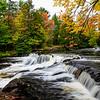 Autumn Arrives at Bond Falls 2