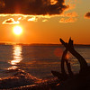 """  A Paradise Sunrise ""  Whitefish Point at Paradise in the Upper Peninsula of Michigan"