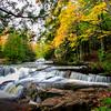 Autumn Arrives at Bond Falls 3