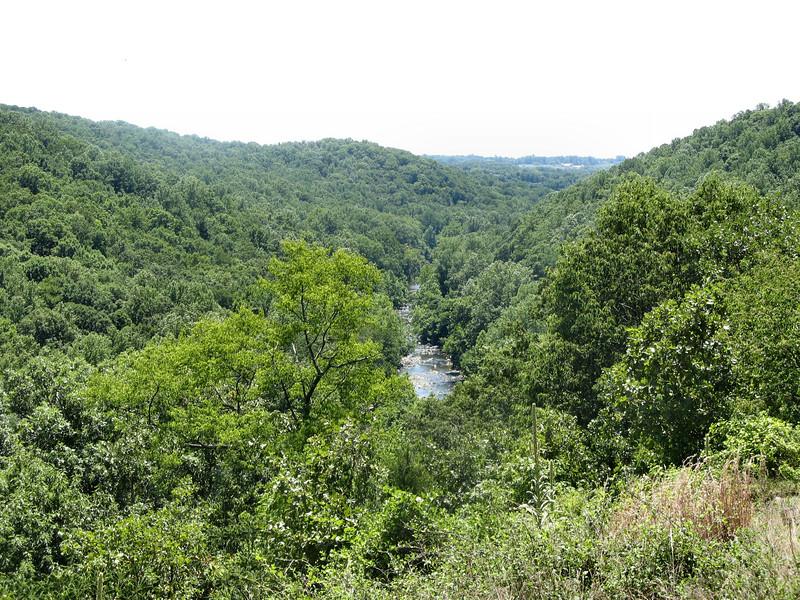 The Patapsco River Valley.<br /> <br /> 7-24-07