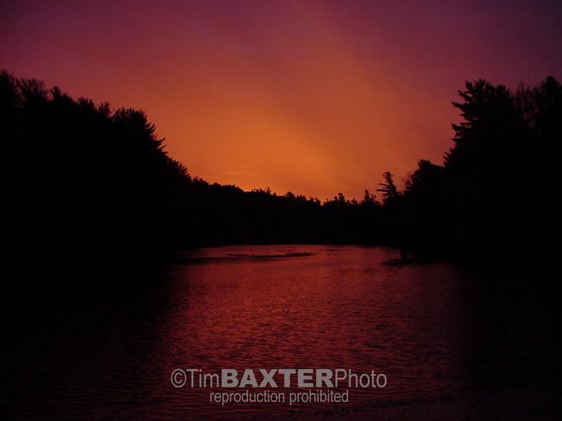 Dawn at Pinecroft