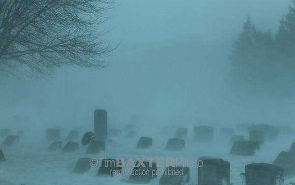 Cold cemetery