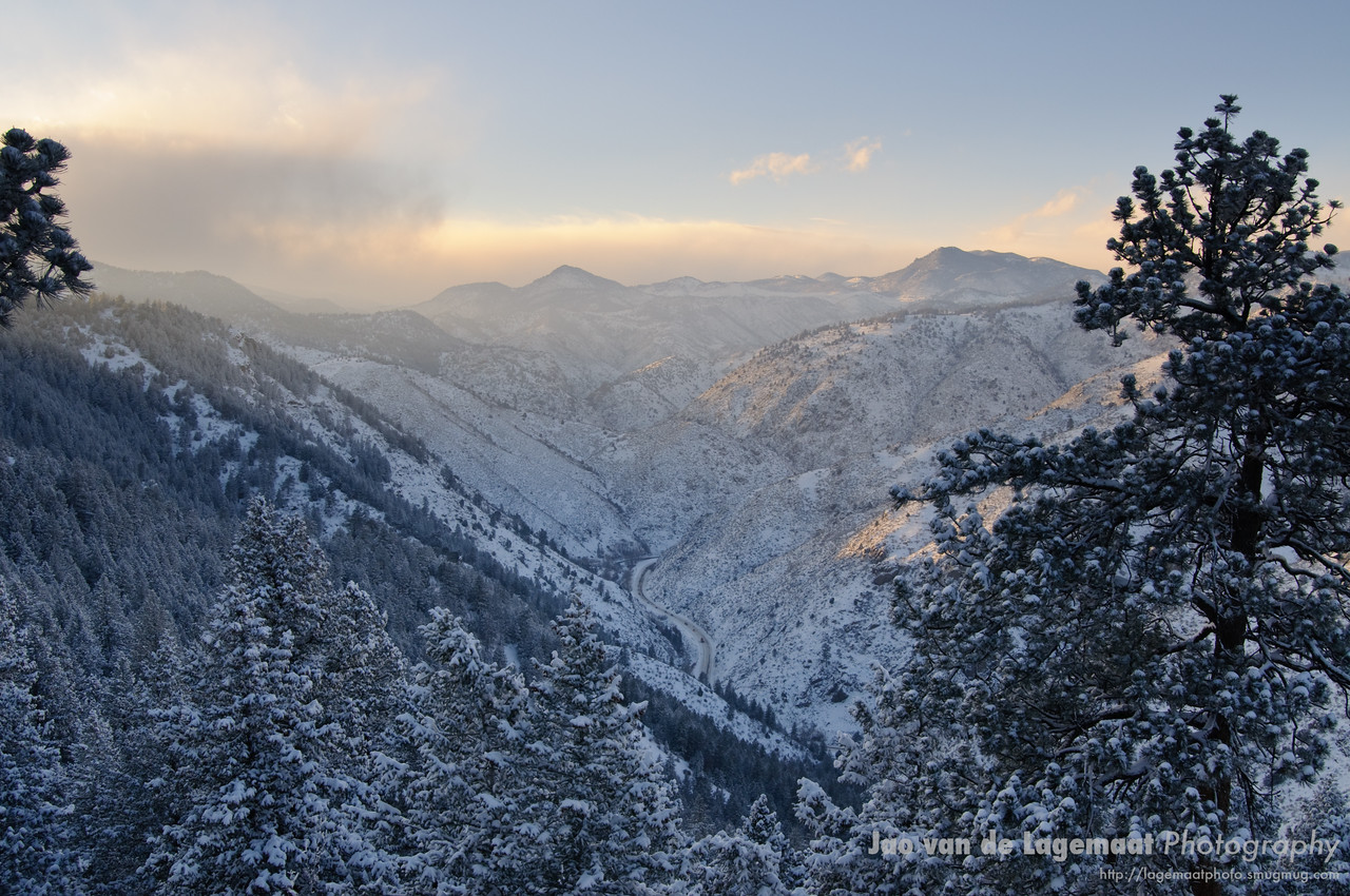 Clear Creek Canyon and Highway 6