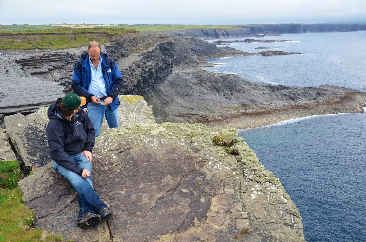 Sitting on the shelf edge - close to the boundary between the Gull Island Formation and the Tullig Cyclothem