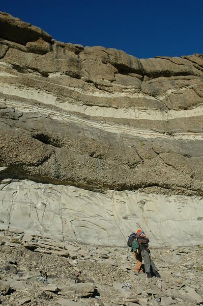 Deep-water conglomerates & sandstones, Cerro Toro Formation, Chile