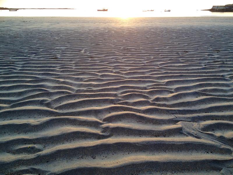 Wave ripples, Kilkee beach