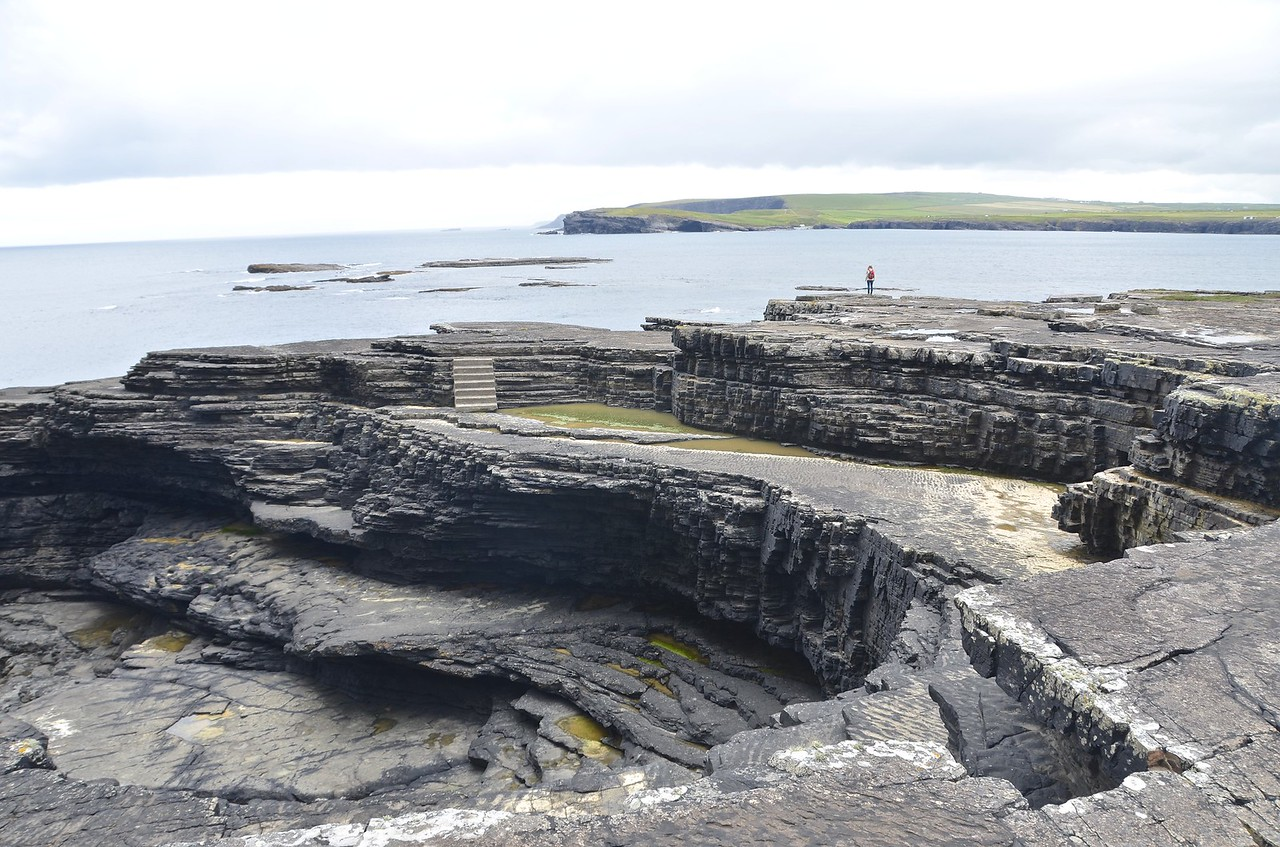 Sandstones and shales of the Kilkee Cyclothem
