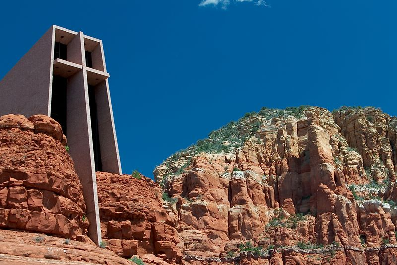 Chapel of the Holy Cross <br>Sedona, Arizona <br>Copyright 2003 Adam Brown