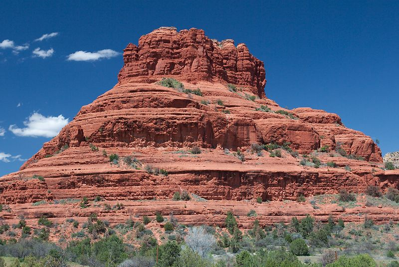 Red Rock - Sedona, Arizona <br>Copyright 2003 Adam Brown