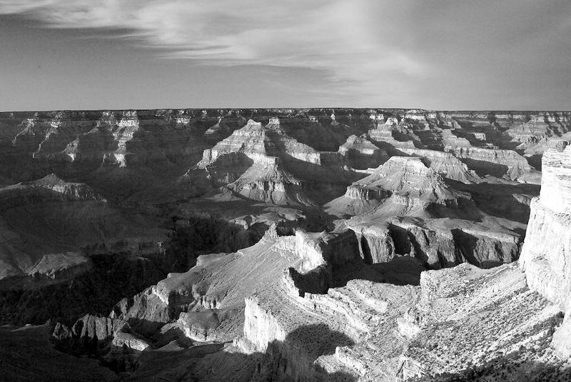 South Rim - Grand Canyon National Park, Arizona <br>Copyright 2003 Adam Brown