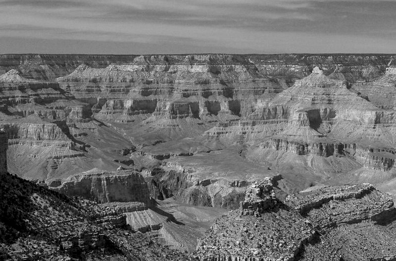 South Rim - Grand Canyon National Park, Arizona <br>Copyright 2003 Adam Brown