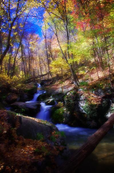 Rose River cascade - soft focus effect<br /> 10/15/2011