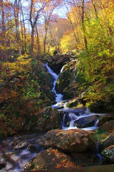 Lower Dark Hollow Falls<br /> 10/15/2011