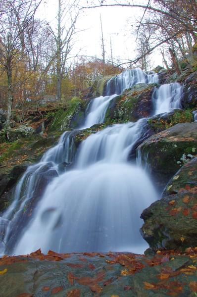 Upper Dark Hollow Falls<br /> 10/16/2011