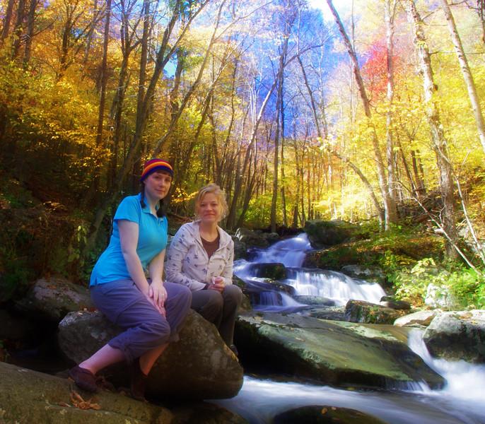 Hiking buddies - soft focus effect<br /> 10/15/2011