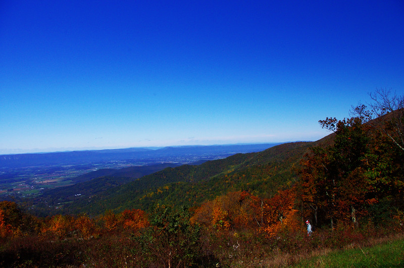 View from an overlook.<br /> 10/15/2011