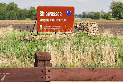 Shiawassee National Wildlife Refuge with two 4 mile trails and lots of wildlife.