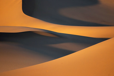 Abstract dunes.