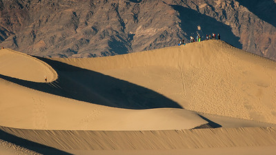 Sand Surfing Death Valley